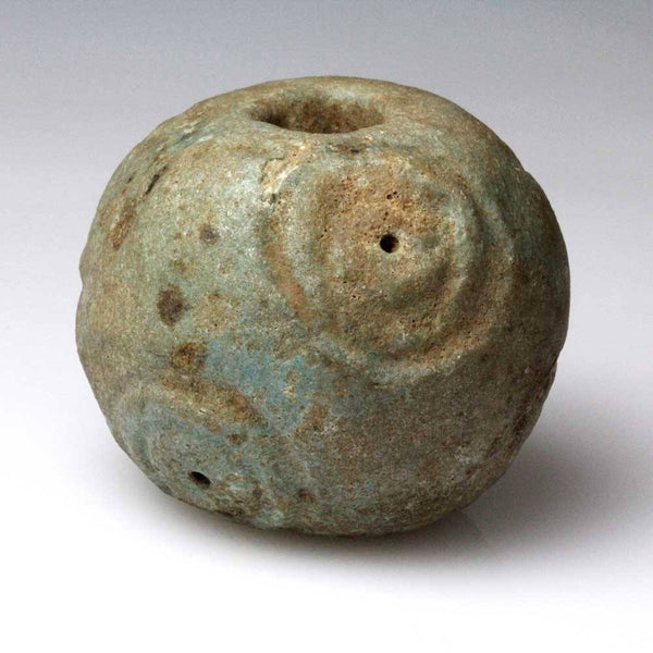A large Hittite Glazed Bead, ca 15th - 13th century BC - Sands of Time Ancient Art