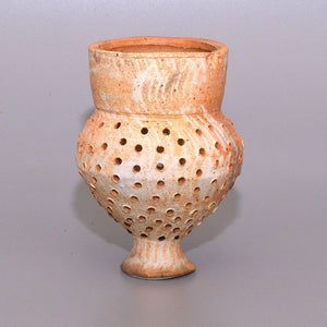 A good Amlash Terracotta Sieve, Iron Age I-II, ca. 1400 - 800 BCE - Sands of Time Ancient Art