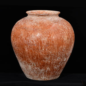 A Canaanite Piriform Redware Jar, Early Bronze Age, ca. 3rd millennium BCE