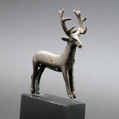 * A fine Sassanian Silver Stag, ca. 5th century AD - Sands of Time Ancient Art