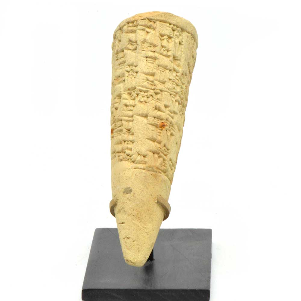 * A Sumerian Foundation cone for Ishme-Dagan, King of Isin, circa 1953 BC - Sands of Time Ancient Art