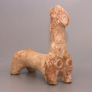 A large Amlash Terracotta Horse, ca. early 1st millennium BCE - Sands of Time Ancient Art