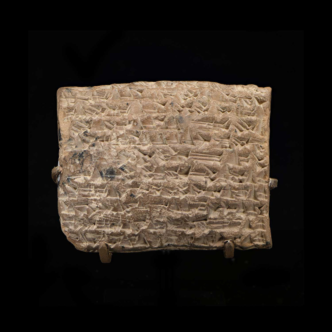 A large Babylonian cuneiform tablet, time of Hammurabi, ca. 1810 – 1750 BCE - Sands of Time Ancient Art