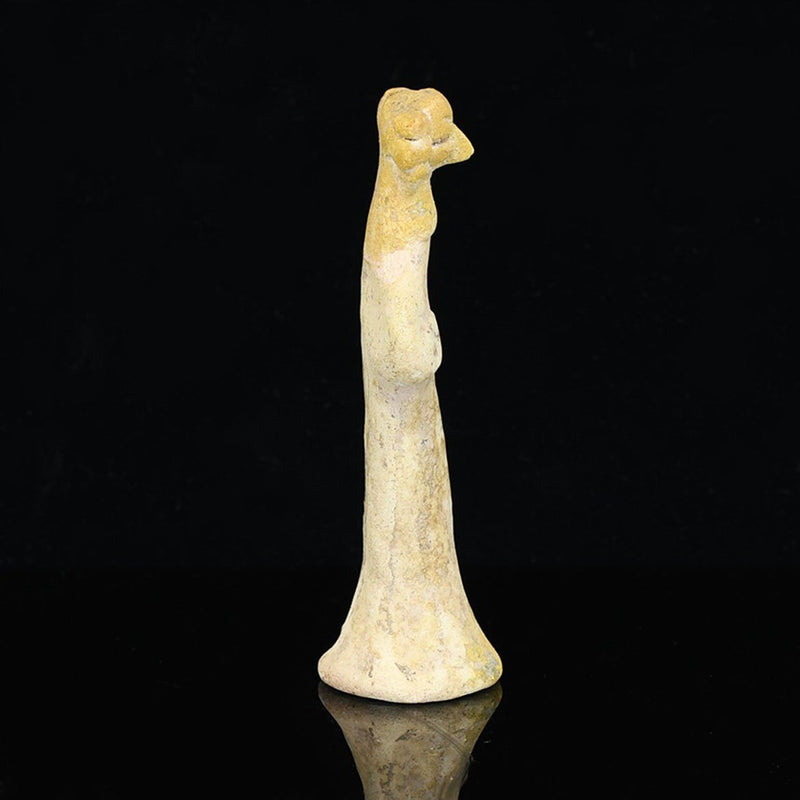 * A Syro-Hittite Terracotta Figurine of Asharte, ca. early second millennium BCE - Sands of Time Ancient Art