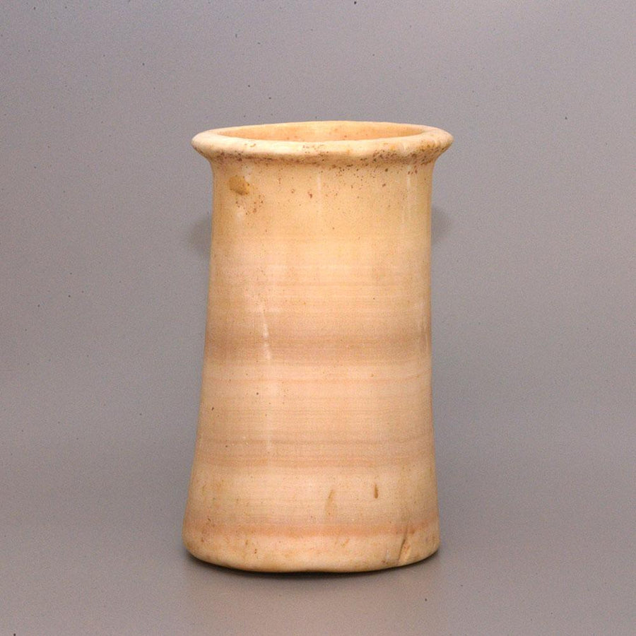 A Sumerian Calcite Cylinder Vessel,  ca. 2100-1600 BC - Sands of Time Ancient Art