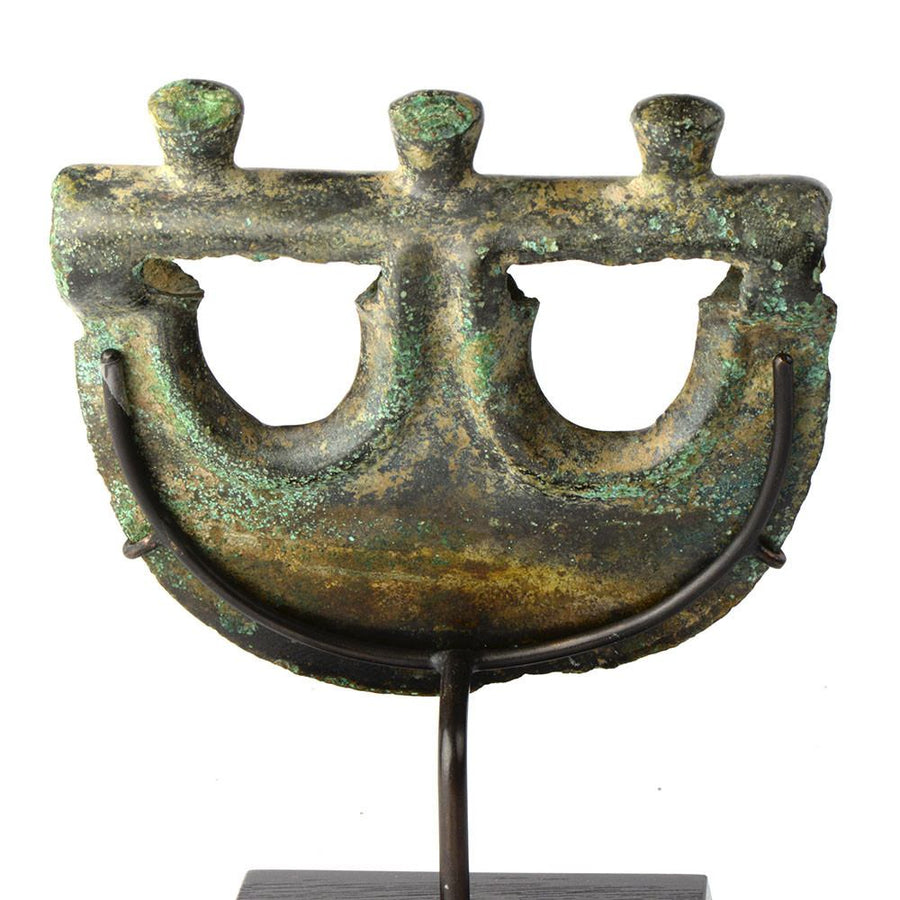 * An early Mesopotamian bronze anchor Axehead, possibly Akkadian, ca. 2334–2154 BC - Sands of Time Ancient Art