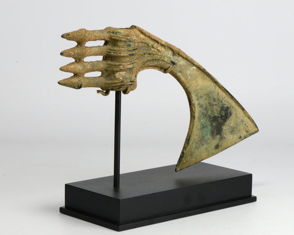 A Luristan spike butted bronze ceremonial axehead, ca 1200 - 800 BC - Sands of Time Ancient Art