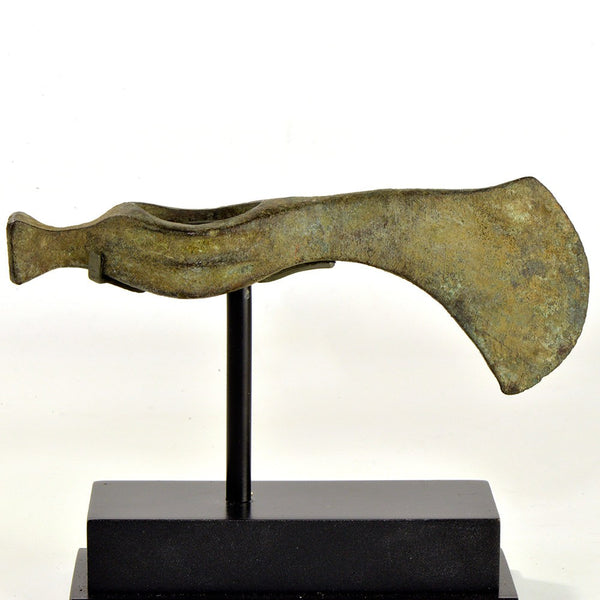 A bronze Axehead, Koban Culture, ca. 9th - 8th century BC - Sands of Time Ancient Art