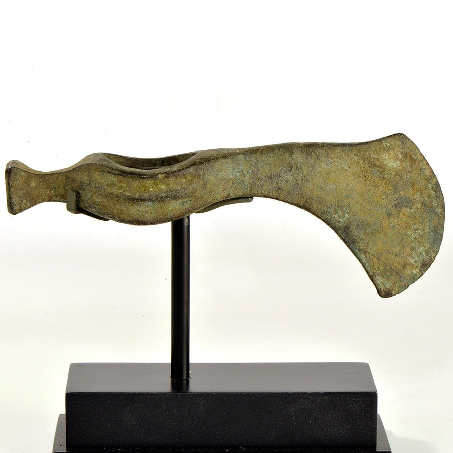 A bronze Axehead, Koban Culture, ca. 9th - 8th century BCE - Sands of Time Ancient Art