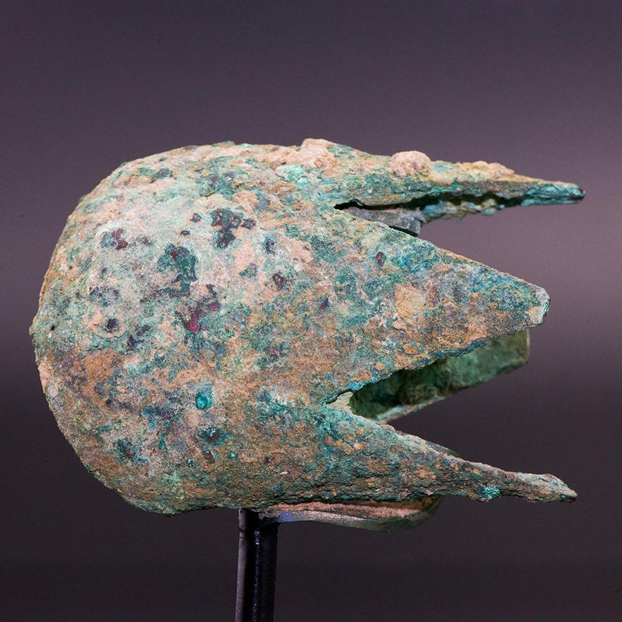A Bactrian Bronze Mace Head, ca. second millennium BC - Sands of Time Ancient Art