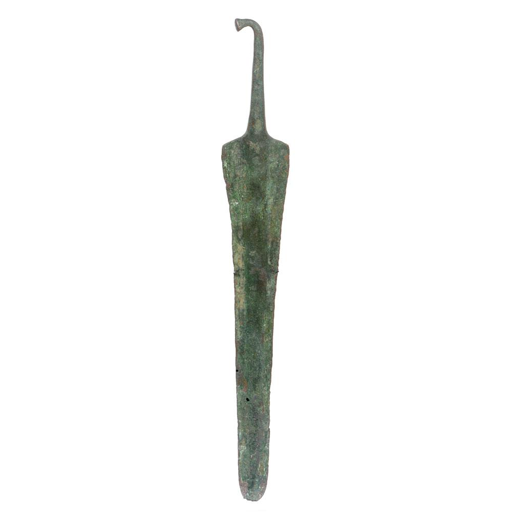 A large Luristan Bronze Spearhead, ca. 1200 - 800 BCE - Sands of Time Ancient Art