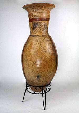 A Large Narino Pottery Storage Jar, Ecuador, ca 1200 AD - Sands of Time Ancient Art