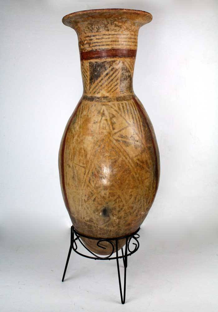A Large Narino Pottery Storage Jar, Ecuador, ca 1200 CE - Sands of Time Ancient Art