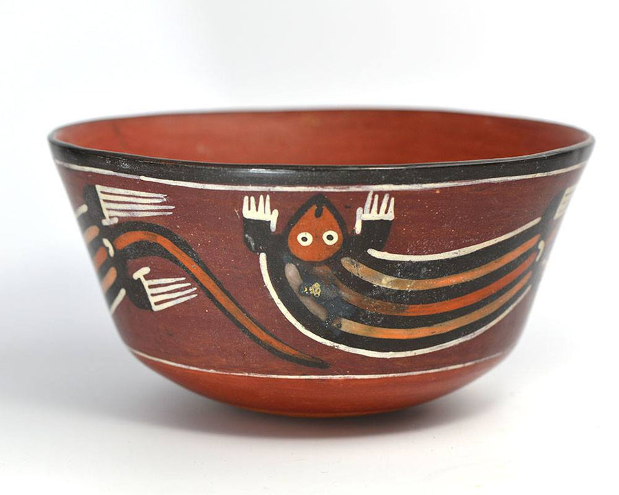 A Nasca Terracotta Bowl, Southern Peru, ca. 350 - 400 AD - Sands of Time Ancient Art