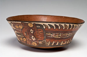 A Pre-Columbian Nazca Flared Bowl, Peru, ca. 400-600 AD - Sands of Time Ancient Art