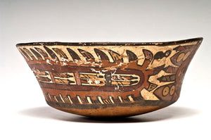 A Pre-Columbian Nazca Flared Bowl, Peru, ca. 400-600 A.D. - Sands of Time Ancient Art