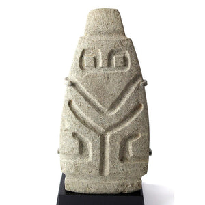 * A fine Valdivia Abstract Stone Figure, Ecuador, 2300-2000 BC - Sands of Time Ancient Art