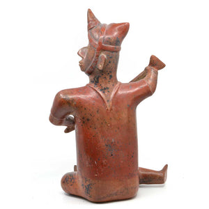 A Colima Seated Shaman Figure, Protoclassic Period, ca. 100 BC - 250 AD - Sands of Time Ancient Art