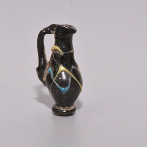 A Roman Miniature Glass Juglet, Late Roman Period, 3rd - 5th century AD - Sands of Time Ancient Art