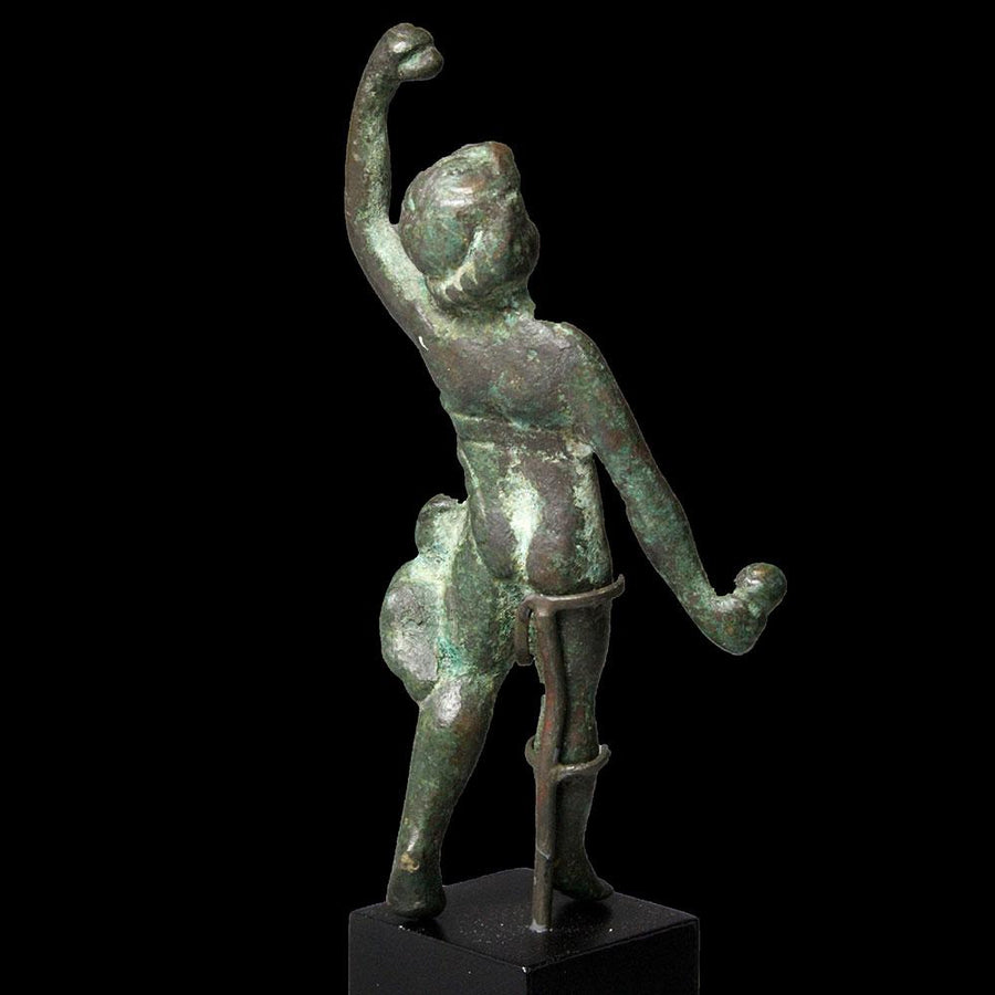 * A Roman Figure of a Dancing Boy, ca. 1st century BCE