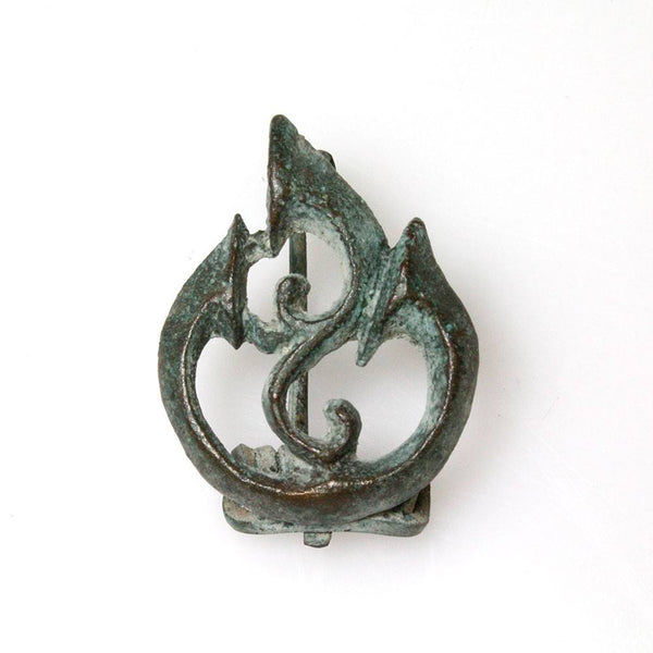 A fine Roman Bronze Trumpet Fibula, ca. 2nd century AD - Sands of Time Ancient Art