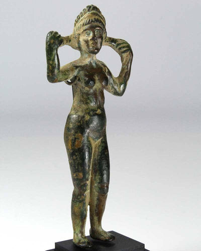 A Roman Imperial Votive Bronze of Aphrodite, ca. 27 B.C. - 14 A.D. - Sands of Time Ancient Art
