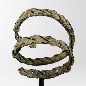 A rare Byzantine Bronze Diadem and Bracelet, ca 4th - 5th century CE - Sands of Time Ancient Art