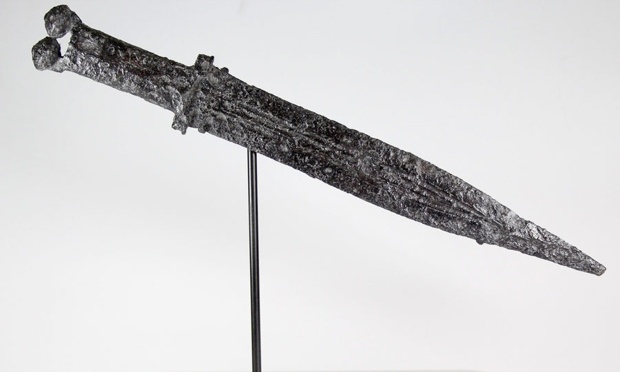 An Important Iberian Antenna Hilt Short Sword and Scabbard, ca. 4th - 3rd century BCE - Sands of Time Ancient Art