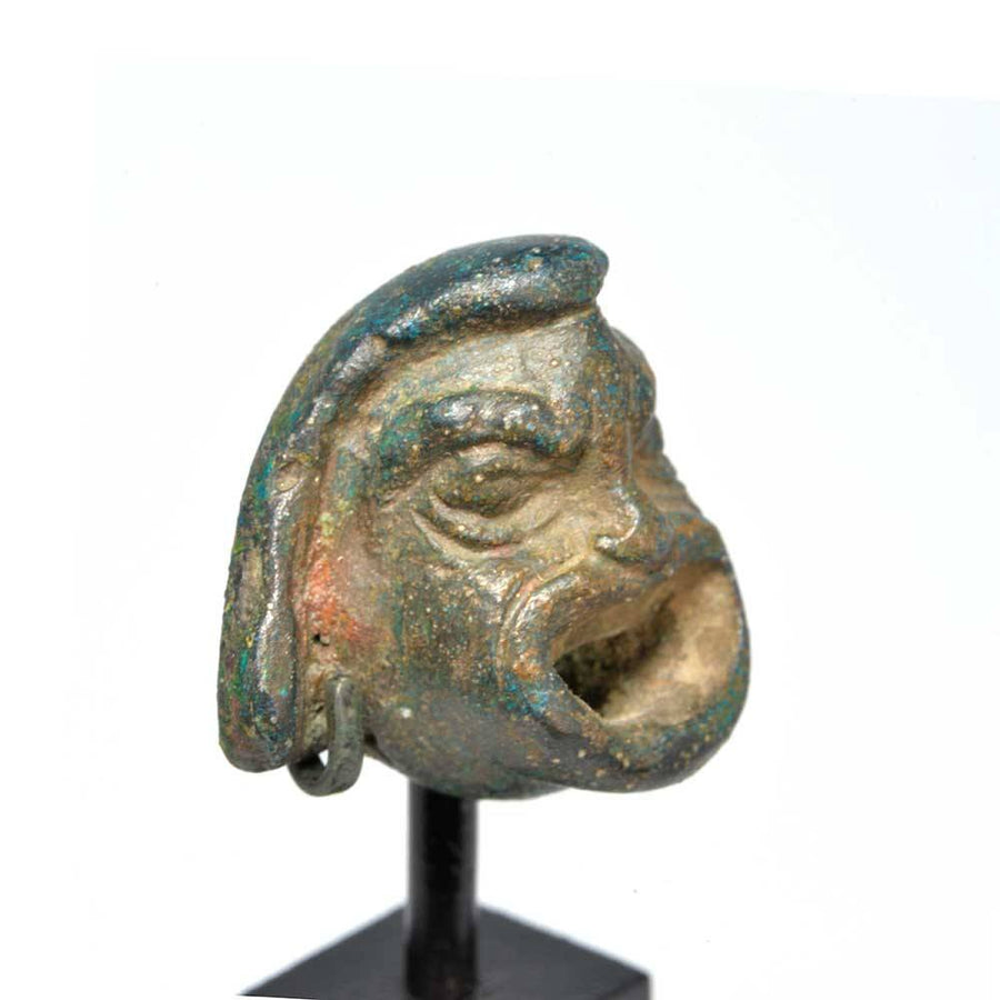 A Roman Actor's Mask Applique, Roman Period, ca. 1st - 2nd century CE - Sands of Time Ancient Art