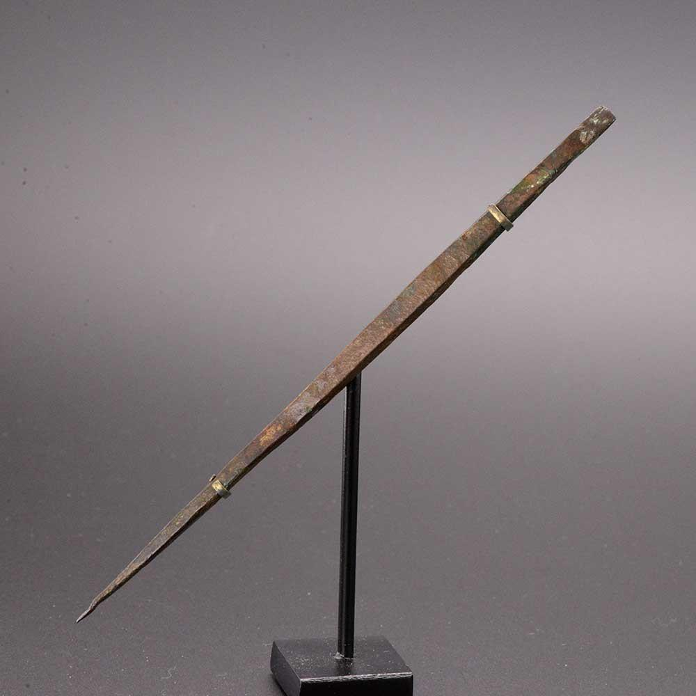 A rare Roman Bronze Medical Needle, Roman Imperial Period, ca. 2nd-4th Century AD - Sands of Time Ancient Art