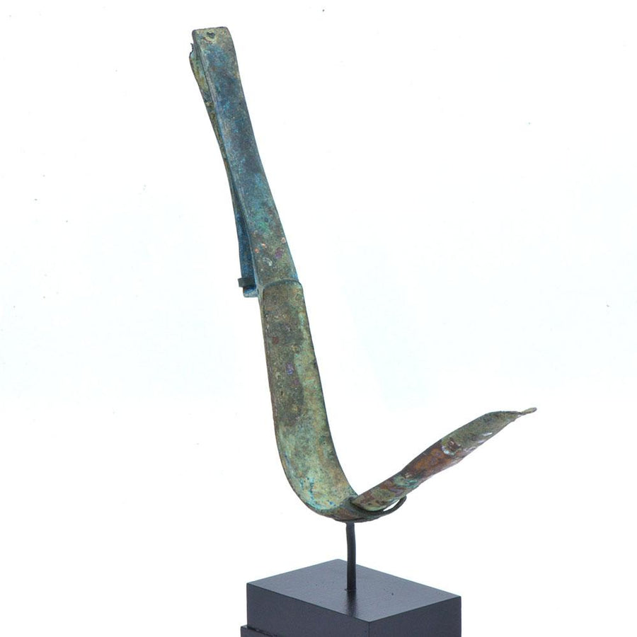 * A Roman Bronze Strigil, ca. 1st century AD - Sands of Time Ancient Art