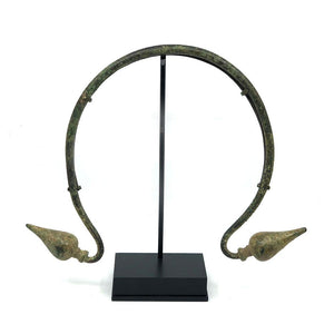 An Italic Bronze Torque, Villanovan Period, ca. 6th Century BCE - Sands of Time Ancient Art