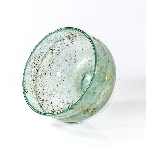 A Roman blue Glass Bowl, ca. 1st century AD - Sands of Time Ancient Art