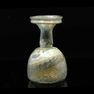 A Roman Swirled Glass Sprinkler Flask, 4th Century CE - Sands of Time Ancient Art