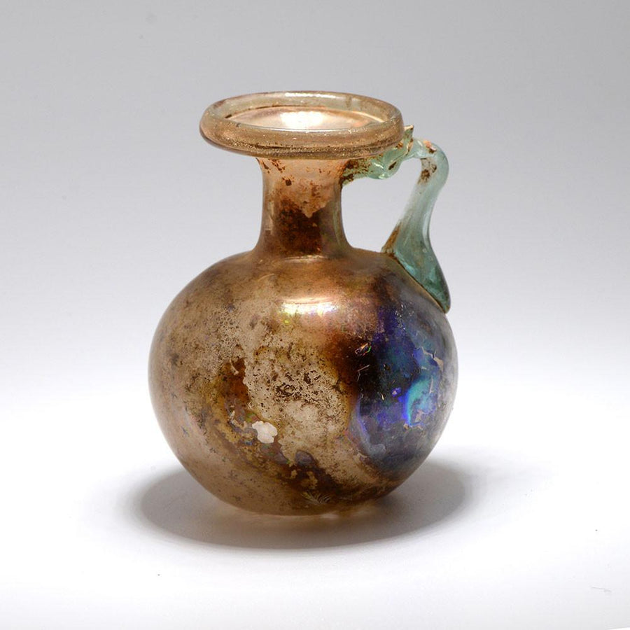 A Roman Amber Glass Juglet, 1st Century AD - Sands of Time Ancient Art