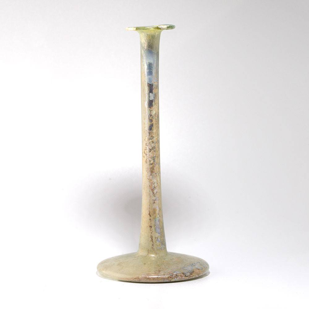 A Roman Candlestick Ungentarium, Roman Imperial, 1st century AD - Sands of Time Ancient Art