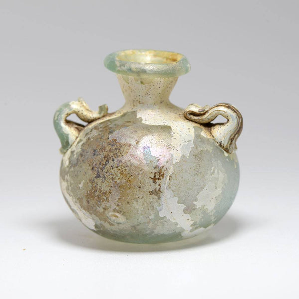 A Roman Glass Aryballos, Roman Imperial, 1st century AD - Sands of Time Ancient Art