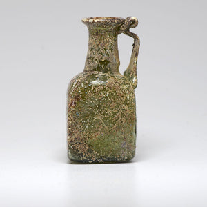 A Roman Green Glass Juglet, 2nd- 3rd Century AD - Sands of Time Ancient Art