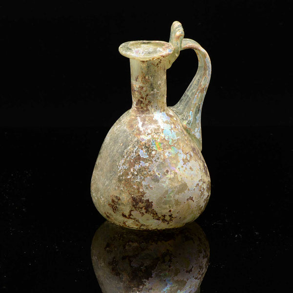 A Roman Glass Juglet, Roman Imperial, 1st Century CE - Sands of Time Ancient Art