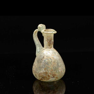 A Roman Glass Juglet, Roman Imperial, 1st Century AD - Sands of Time Ancient Art