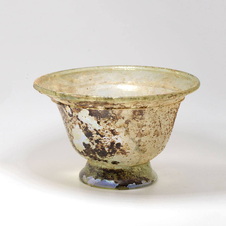 * A Roman Glass Bowl, Roman Imperial, ca. 1st century AD - Sands of Time Ancient Art