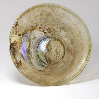 A Roman Glass Bowl, Roman Imperial, ca. 1st century AD - Sands of Time Ancient Art