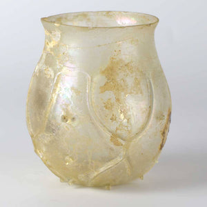 A Roman Mold-Blown Beaker, ca. 4th century AD - Sands of Time Ancient Art