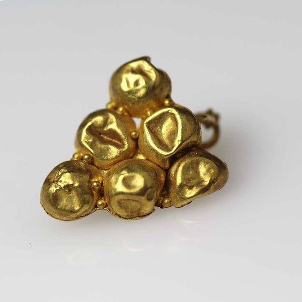 A Roman Gold Grape Earring, ca 1st century AD - Sands of Time Ancient Art