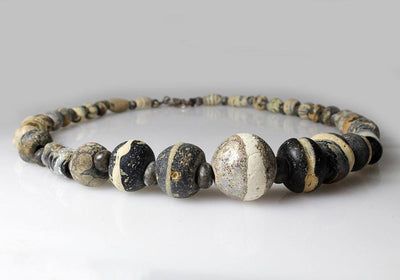 A Islamic Mosaic Glass Bead Necklace, 7th-8th Century AD
