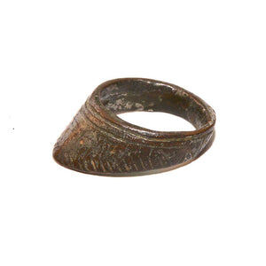 * A Roman bronze Archer's Ring, Roman Imperial Period, ca. 1st - 2nd Century AD - Sands of Time Ancient Art