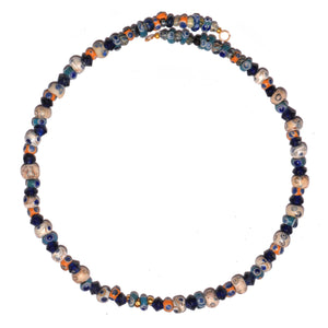 "A Carthaginian Glass ""Eye"" Bead Necklace, ca. 6th - 2nd century BC - Sands of Time Ancient Art"