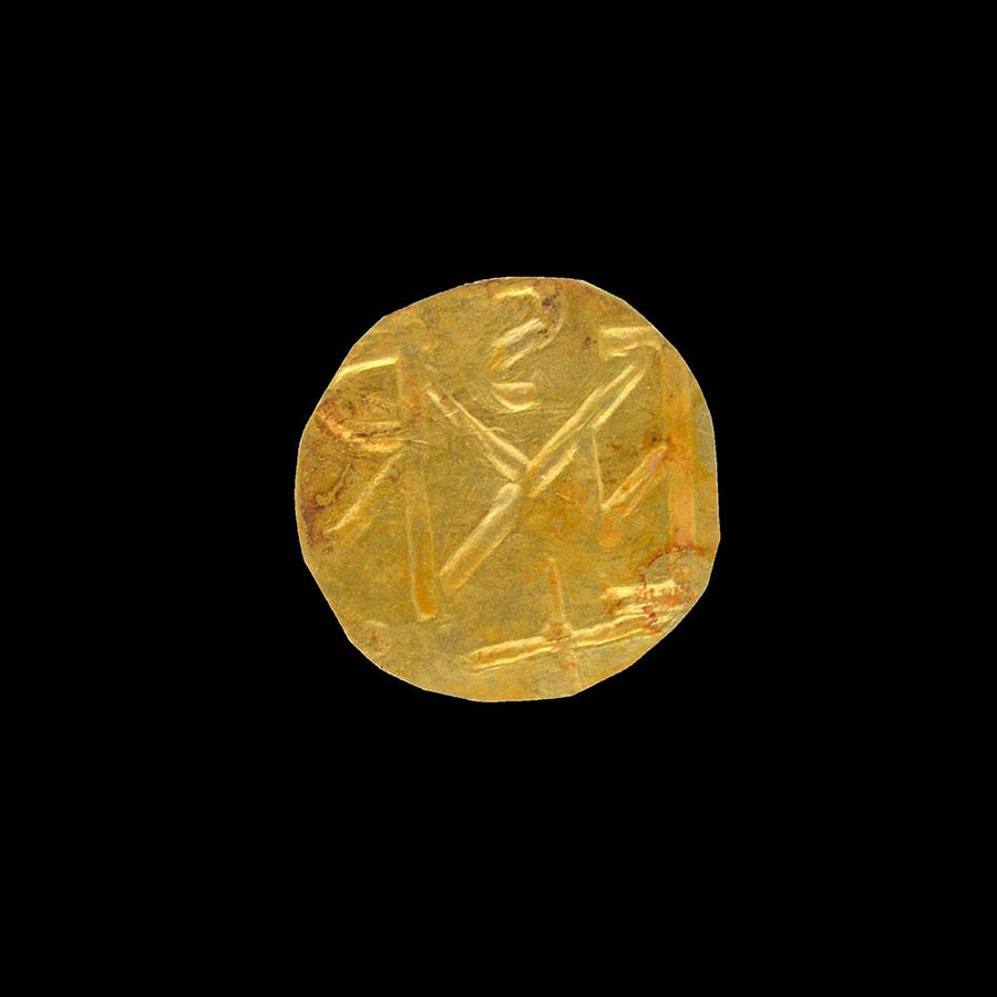 A Byzantine Gold Token, ca. 4th - 6th Century CE - Sands of Time Ancient Art
