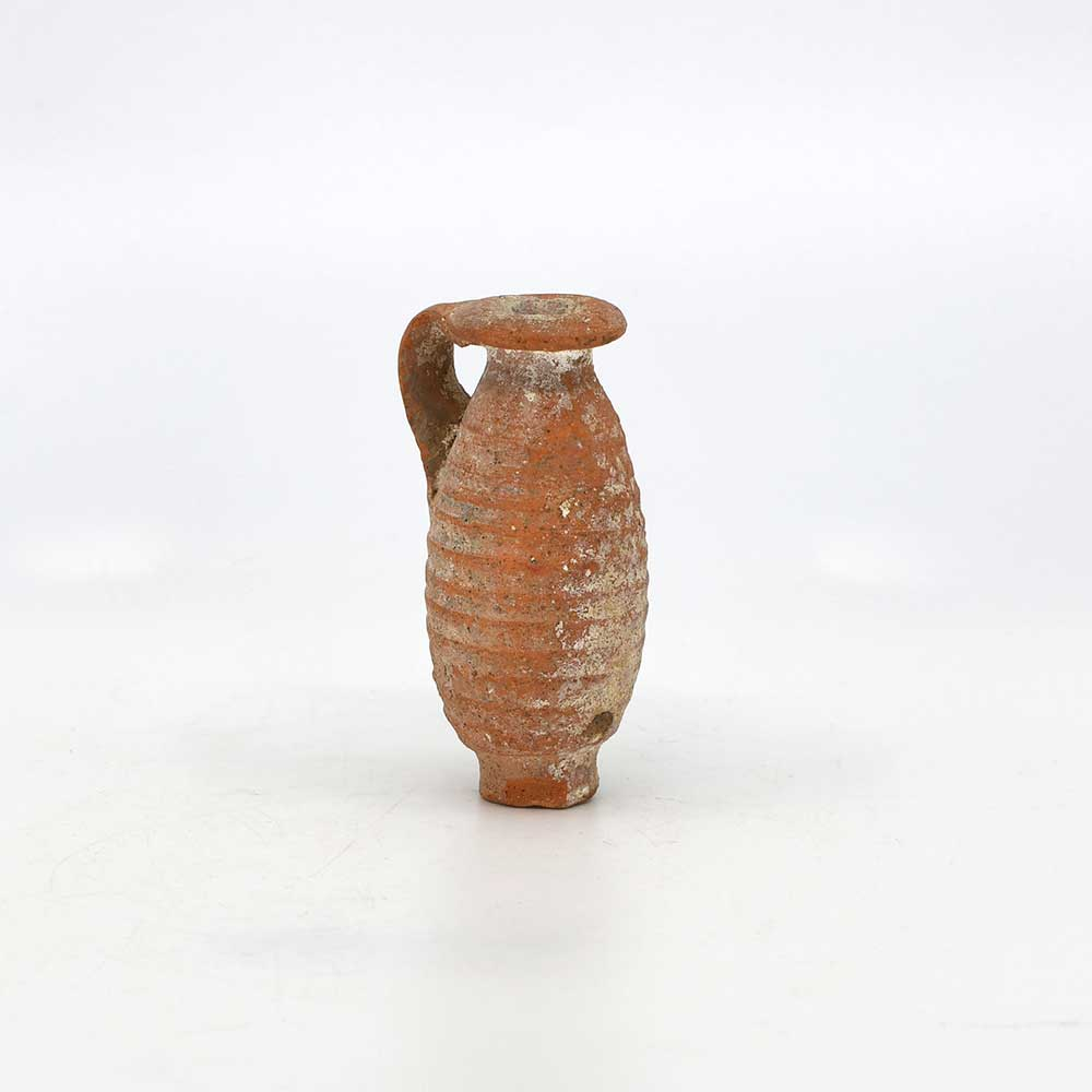 A Roman Clay Juglet, Roman Imperial Period, ca. 1st - 3rd century CE - Sands of Time Ancient Art