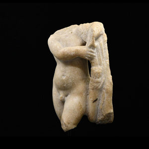 A Roman Marble Torso of Eros, ca. 1st century BCE - 1st century CE - Sands of Time Ancient Art